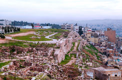 Cidade de Amman Imagem de Stock Royalty Free