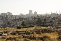 Cidade de Amman fotografia de stock