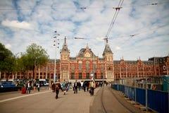 Cidade de Amsterdão Imagens de Stock