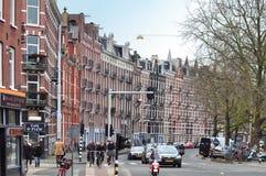 Cidade de Amsterdão, Países Baixos Imagens de Stock Royalty Free