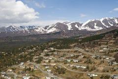 Cidade de Anchorage Fotos de Stock