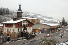 Cidade de Antzuola Imagem de Stock Royalty Free