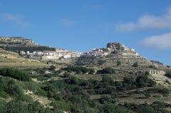A cidade de Ares del maestre Fotografia de Stock