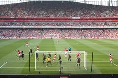 Cidade de Arsenal-Manchester Fotografia de Stock Royalty Free