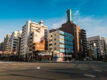 Cidade de Asakusa imagem de stock