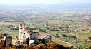 Cidade de Assisi, Italy fotos de stock royalty free