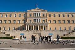A cidade de Atenas Imagens de Stock Royalty Free