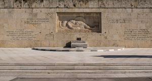A cidade de Atenas Fotos de Stock