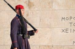 A cidade de Atenas Foto de Stock