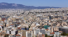 Cidade de Atenas Imagens de Stock Royalty Free