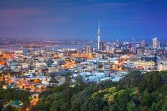 Cidade de Auckland, Nova Zelândia imagem de stock