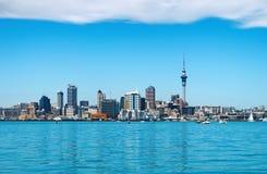 Cidade de Auckland, Nova Zelândia Foto de Stock Royalty Free