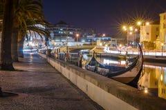 Cidade de Aveiro Foto de Stock Royalty Free