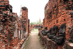 Cidade de Ayutthaya Imagem de Stock