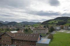 A cidade de Azpeitia Fotos de Stock