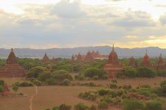 CIDADE de Bagan Foto de Stock Royalty Free