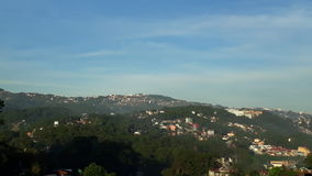 Cidade de Baguio Imagem de Stock