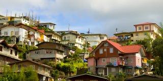 Cidade de Baguio, as Filipinas imagens de stock royalty free