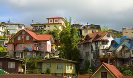 Cidade de Baguio, o Pilipinas fotografia de stock