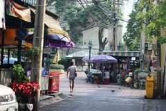 Cidade de Banguecoque Imagem de Stock Royalty Free