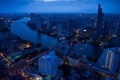 Cidade de Banguecoque Imagem de Stock