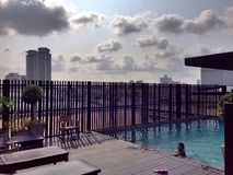 Cidade de Banguecoque imagens de stock royalty free