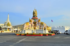 Cidade de Banguecoque foto de stock royalty free