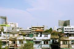 Cidade de Banguecoque Fotografia de Stock Royalty Free