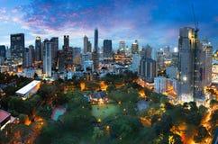 Cidade de Banguecoque Fotografia de Stock