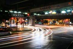 Cidade de Banguecoque da vida Imagens de Stock