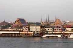 Cidade de Banguecoque, Tailândia Fotos de Stock Royalty Free