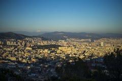Cidade de Barcelona, Espanha fotos de stock royalty free