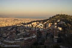 Cidade de Barcelona, Espanha foto de stock royalty free