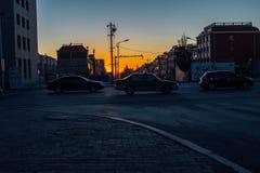 Cidade de Bayahot, Inner Mongolia, China foto de stock royalty free
