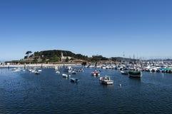 A cidade de Bayonne em Galiza Imagem de Stock Royalty Free