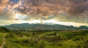 Cidade de Berane Fotos de Stock Royalty Free