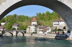 Cidade de Berna, Suíça Fotos de Stock Royalty Free