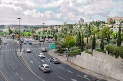 Cidade de Bethlehem palestina Área residencial Imagem de Stock Royalty Free