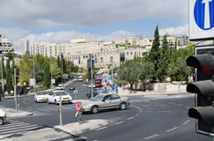 Cidade de Bethlehem palestina Fotografia de Stock