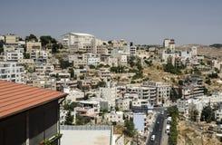 Cidade de Bethlehem, panorama da vista geral Fotos de Stock Royalty Free