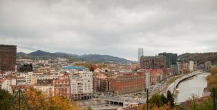 Cidade de Bilbao Imagem de Stock Royalty Free