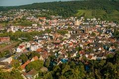 Cidade de Bingen Germany imagens de stock royalty free
