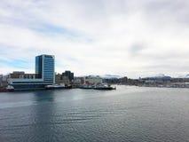 A cidade de Bodo em Noruega Fotografia de Stock