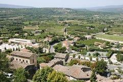 Cidade de Bonnieux Imagem de Stock Royalty Free