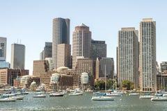 A cidade de Boston Foto de Stock Royalty Free