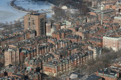 Cidade de Boston fotos de stock