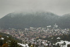 Cidade de Brasov Fotografia de Stock Royalty Free