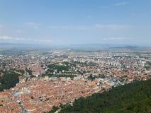 Cidade de Brasov Foto de Stock