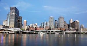 Cidade de Brisbane do banco sul Fotos de Stock