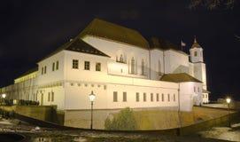 Cidade de Brno - castelo de Spilberk, a Europa Central - República Checa Foto de Stock